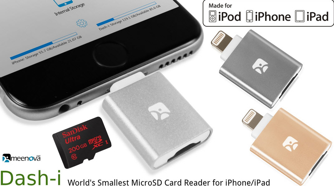 Why Go with the Dash-I Micro SD Reader- Everything to Know about the Smallest External Storage Device for iOS