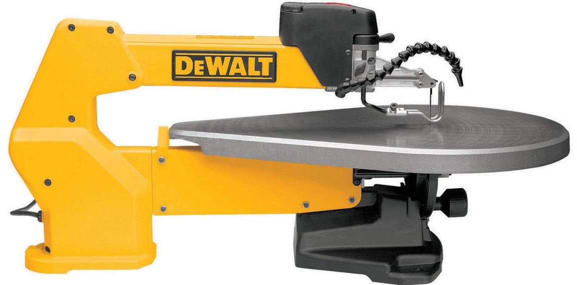 DeWalt variable speed scroll saw
