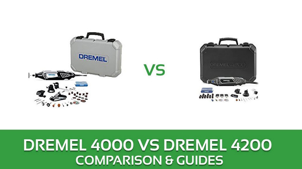 Dremel 4000 vs 4200 toolkit full comparison