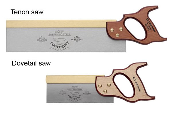 dovetail saw and tenon saw
