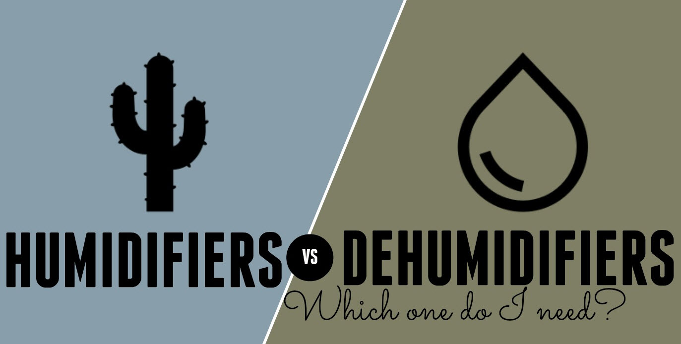Humidifiers Vs Dehumidifiers Vs Purifiers