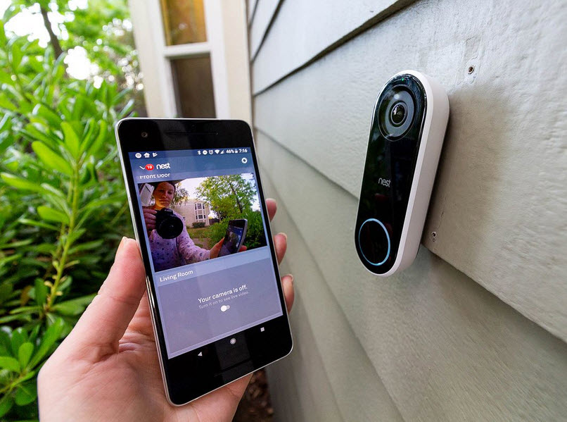 Nest Hello Streams Video To Smartphone