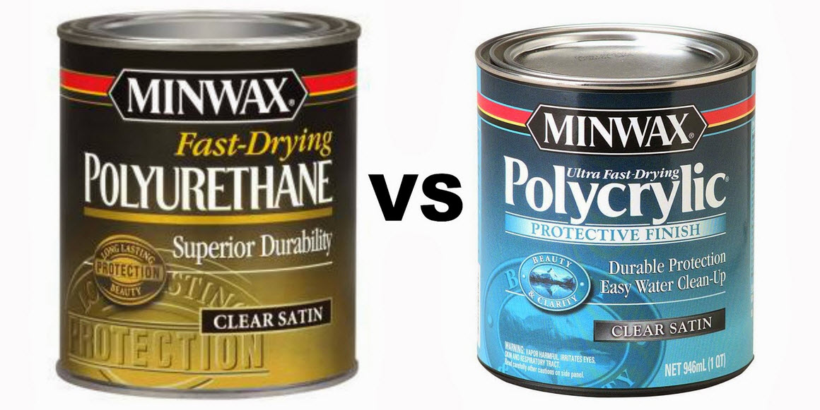 Polycrylic vs. Polyurethane - Which One To Use?