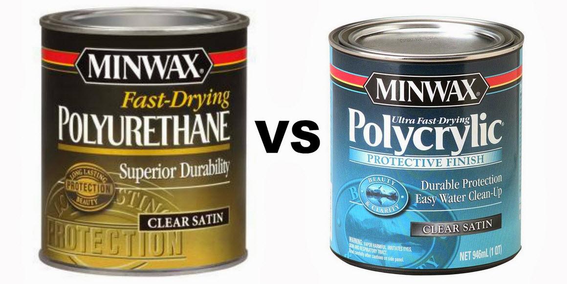 Polycrylic vs  Polyurethane - Which One To Use? - Informinc