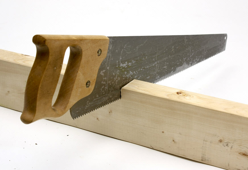 traditional hand saw