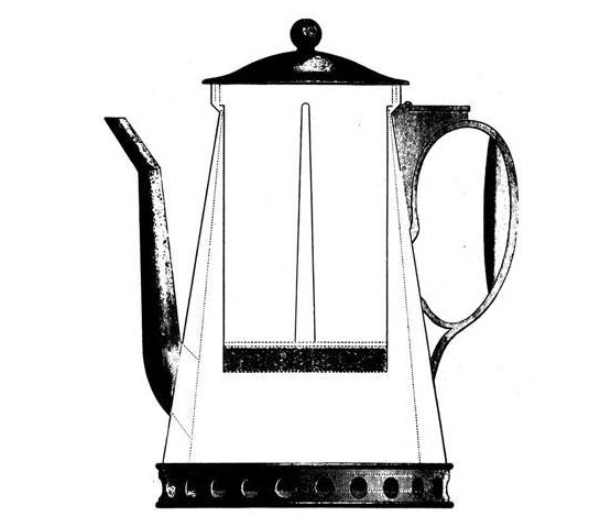 Benjamin Rumford's coffee percolator