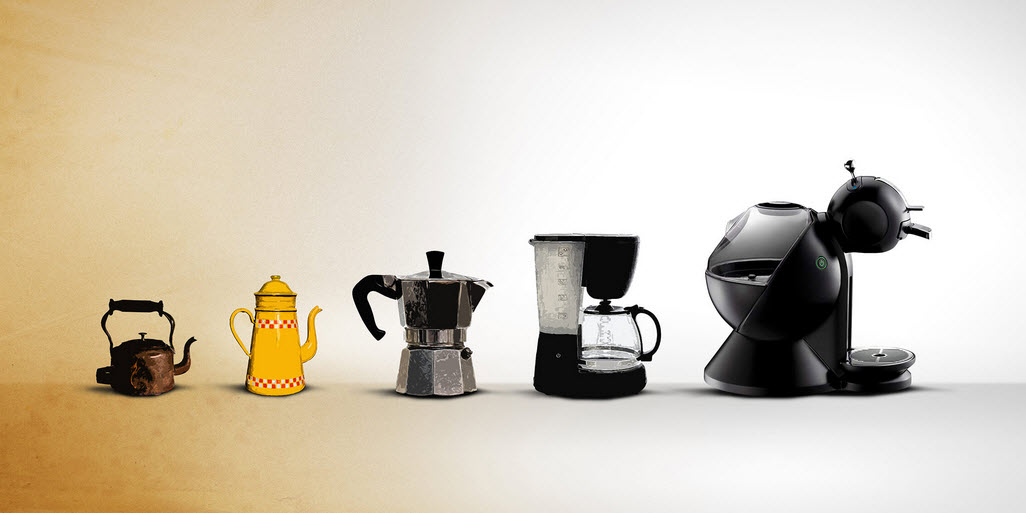Coffee Maker Technologies - Past and Future - Brief History of Coffee Machines