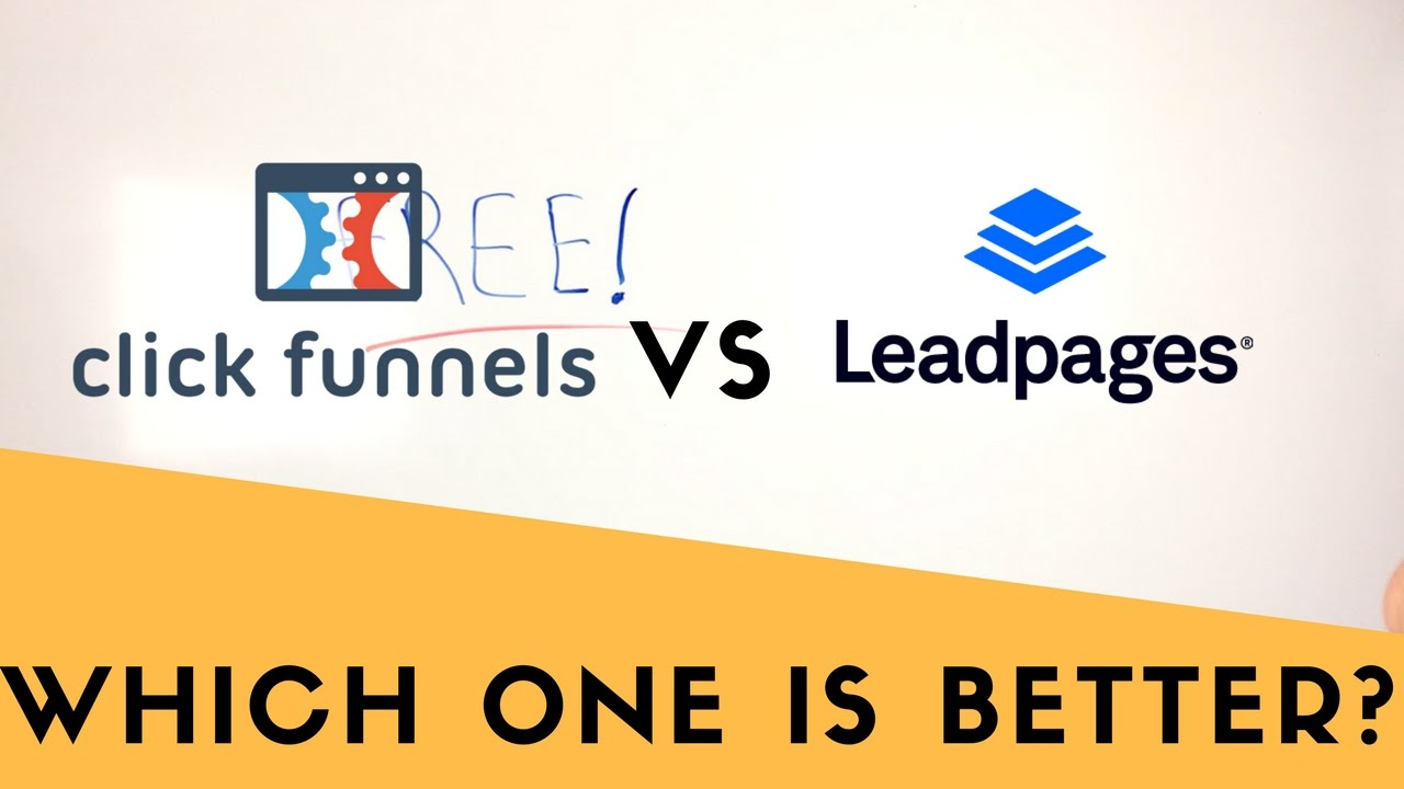 Clickfunnels Vs Leadpages - Comparing The Software Tools