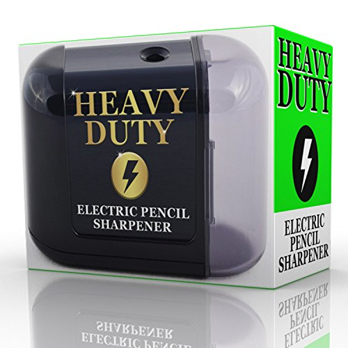 Artist Choice Electric-Pencil-Sharpener Battery Powered Heavy Duty Helical Blade Pencil Sharpener review