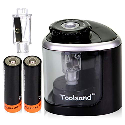 Electric Pencil Sharpener, Battery-Powered, Batteries Included review