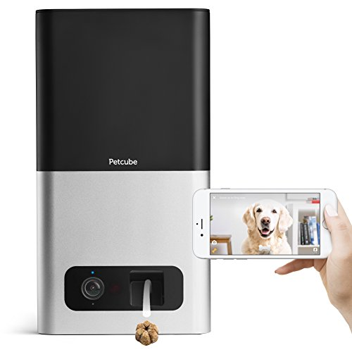 Petcube Bites Pet Camera with Treat Dispenser: HD 1080p Video Monitor with 2-Way Audio, Night Vision, Sound and Motion Alerts. Designed for Dogs and Cats. review