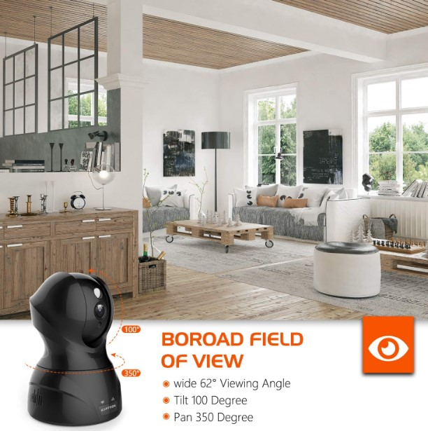 Review of Security Camera Wi-Fi IP Camera - KAMTRON HD Home