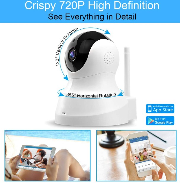 TENVIS Security Camera details
