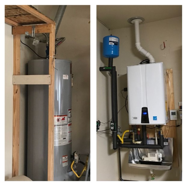 Indirect Water Heater Vs. Tankless