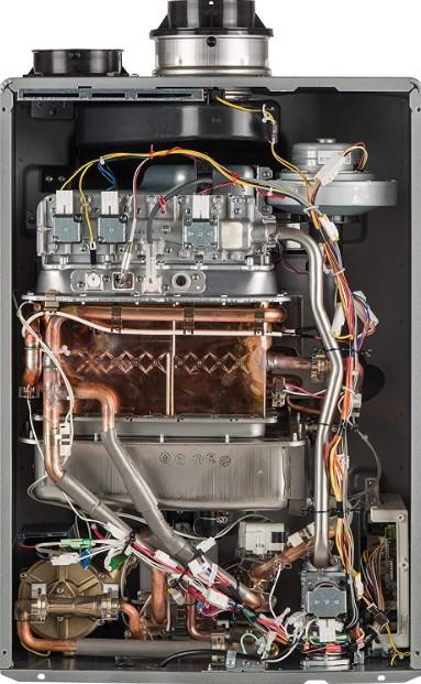 Rinnai RUR98iN Ultra Series Condensing Indoor Natural Gas Tankless Water Heater
