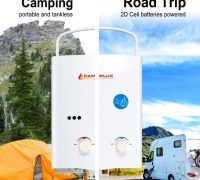 Review of Camplux 5L 1.32 GPM Portable Outdoor Tankless Propane Water Heater