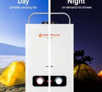 Review of Camplux Pro 6L 1.58 GPM Outdoor Portable Propane Tankless Water Heater