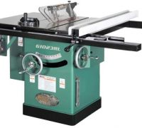 "Review of Grizzly Industrial G1023RL - 10"" 3 HP 240V Cabinet Left-Tilting Table Saw"
