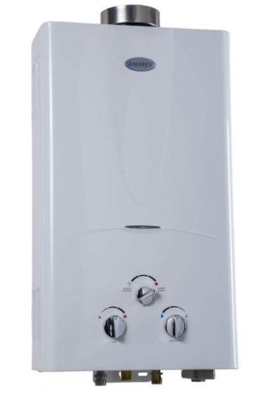 Review of Marey GA10LP Power 10L 3.1 GPM Propane Gas Tankless Water Heater