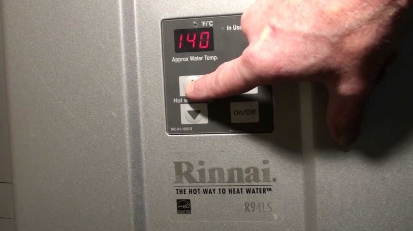 How to Reset A Rinnai Tankless Water Heater