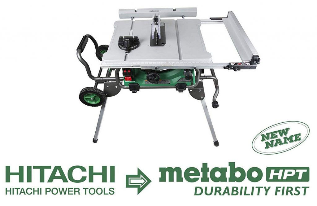 Review of Hitachi Metabo HPT C10RJ 10 inch Jobsite Table Saw