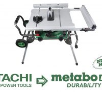 Review of the Hitachi/Metabo C10RJ Table Saw