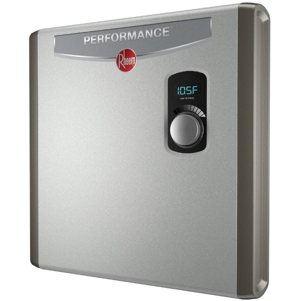 Review of Rheem 240V 3 Heating Chambers RTEX-24 Residential Tankless Water Heater