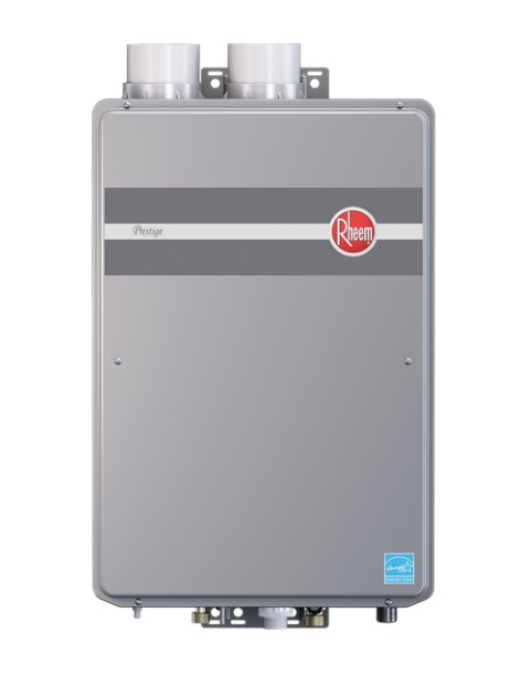 Review of Rheem RTG-95DVLN 9.5 GPM Indoor Direct Vent Tankless Natural Gas Water Heater