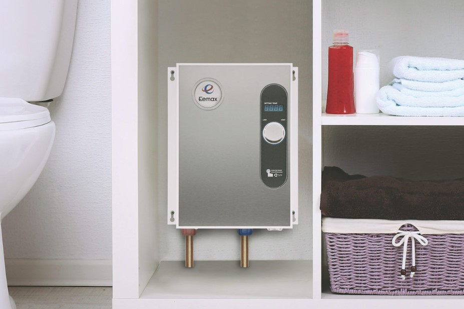 An Electric Tankless Water Heater