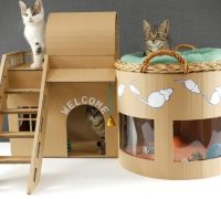 Perfect Shelter for Outdoor Cats: Heated Cat House with Electric Heat Mat and Plug-in Timer