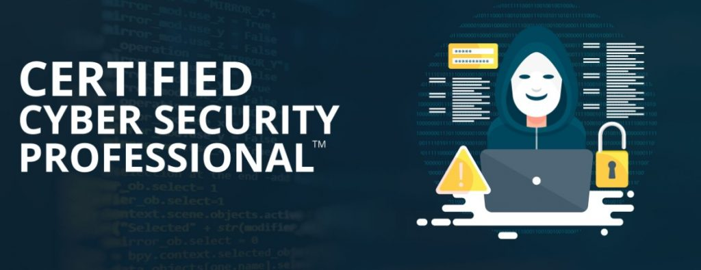 Certified cybersecurity professional