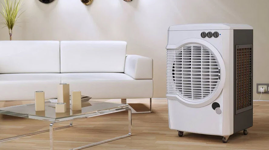 Desert Air Cooler in large room