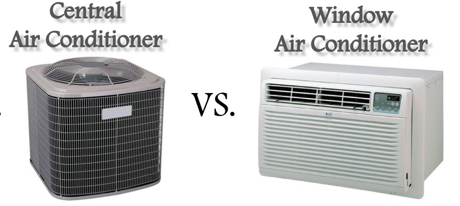 Central Air Conditioning Vs. Wall/ Window Air Conditioning- Which is Best For You?
