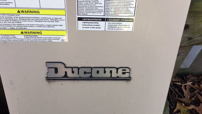 Ducane Furnace Blowing Cold Air