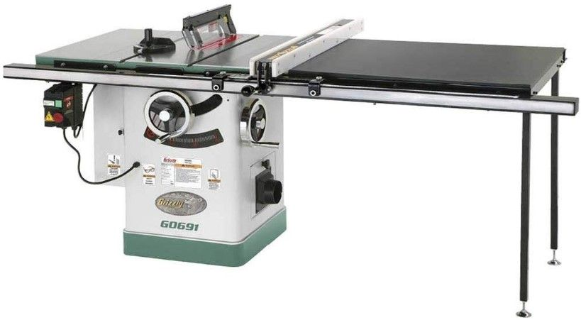 Review of Grizzly Industrial G0691-10″ 3HP 220V Cabinet Table Saw
