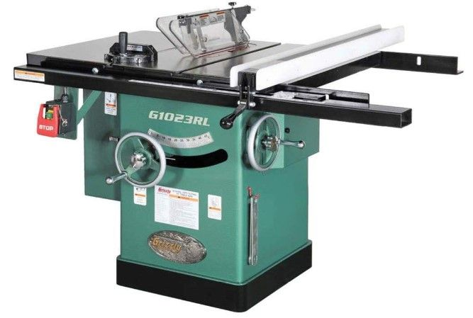 Review of Grizzly Industrial G1023RL – 10″ 3 HP 240V Cabinet Left-Tilting Table Saw